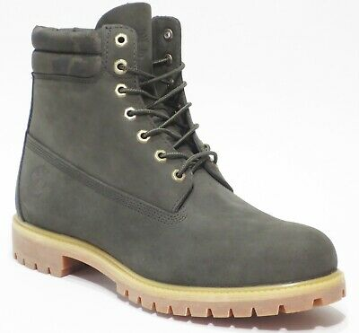 NEW TIMBERLAND MENS 6 Inch Double Sole Premium Leather Work