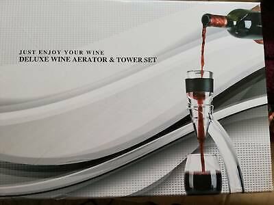 Deluxe Wine Aerator and Tower Set