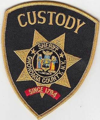 Niagara County New York State of NY Law Enforcement Sheriff Police Patch