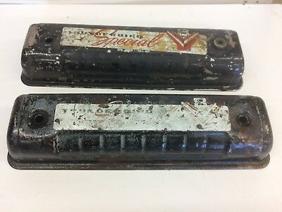 1955-57 Ford thunderbird Y block  239,256,272,292,312 Valve covers
