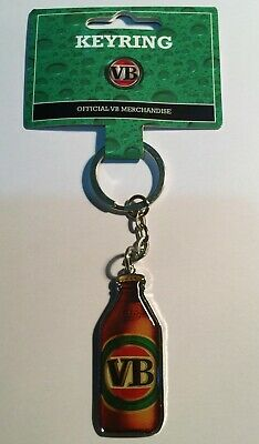 1 x VB (Victorian Bitter), quality metal, Key Ring, Key Chain, Beer, Man Cave
