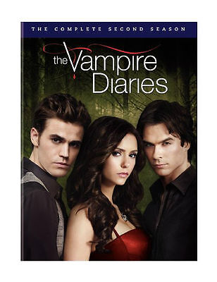 The Vampire Diaries Season Two 5-Disc Set  Region 4 DVD VG to EX Condition