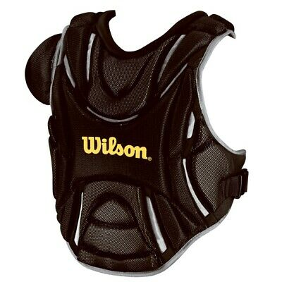 Wilson Fastpitch Pro Stock softball catchers gear chest protector 3340 Royal 14""