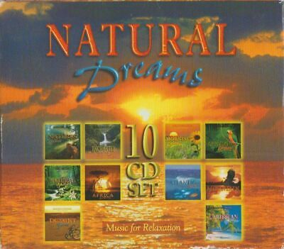 C.d.music G874  Natural Dreams All Still Sealed 10 Disc Set Music For Relaxation