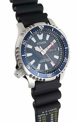 Citizen NY0081-10L Promaster Limited Mens automatic watch fugu ISO 6425 blue