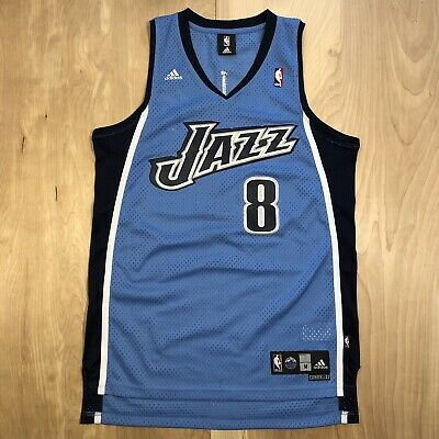 f77ff022ca5 Vintage Adidas Utah Jazz Deron Williams Jersey Medium +2 Swingman Champion  Shirt