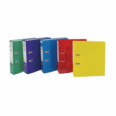 Concord A4 File 70mm Assorted IXL Lever Arch (Pack of 10)  [JT11143]
