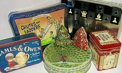 UK ADVERTISING TINS  - VINTAGE and RARE  click - SELECT - to browse or order