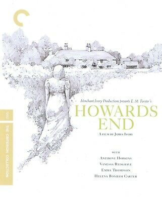 VERY GOOD Howards End (Blu-ray Edition Disc, 2009, Criterion Collection)
