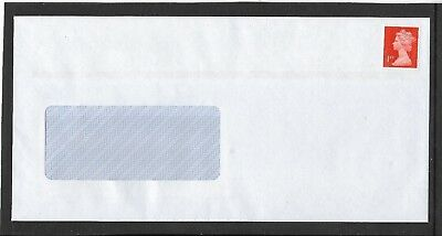 "100 PRE- STAMPED ""WINDOW"" ENVELOPES ""SELF SEAL""  1st CLASS, SIZE DL."