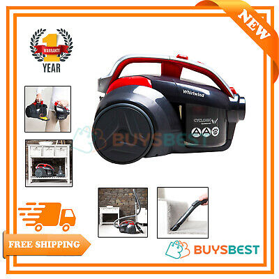 Hoover Whirlwind Bagless Pets Cylinder Vacuum Cleaner 700 W  - LA71WR20