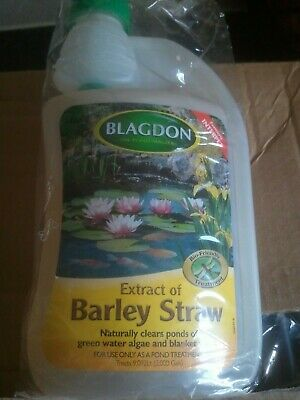 Blagdon Barley Straw Extract Green Water Algae & Blanket Weed Koi Pond Treatment