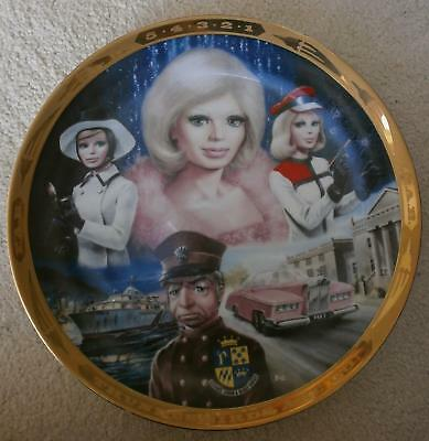 Thunderbirds plate from 1992 - Lady Penelope - London Agent (with certificate)