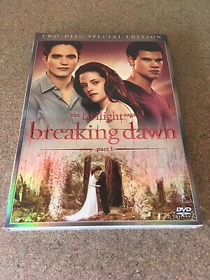The Twilight Saga Breaking Dawn Two Disc Special Edition Dvd Video