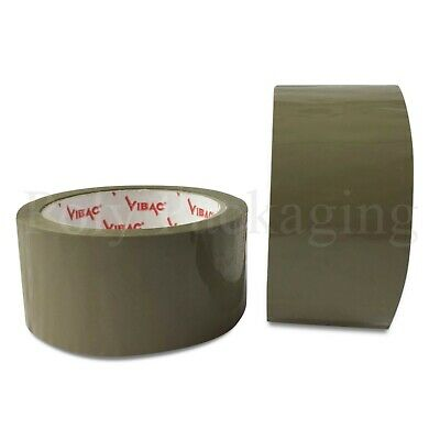"12 x Low Noise CELLOFIX Clear Tape Rolls 48mm x 66m Top Quality 2/"" wide"