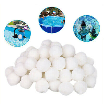 700g White Swimming Pool Cleaning Tools Dedicated Filter Fiber Ball Filter New
