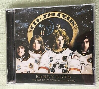 Led Zeppelin 2 CD album - Early Days The best of volume 1 - Greatest Hits very