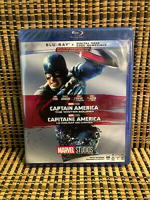 Captain America 2: The Winter Soldier (Blu-ray, 2014)Marvel Avenger/Chris Evans