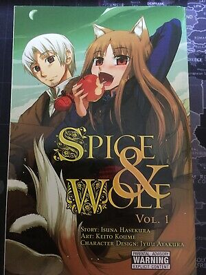 Spice and Wolf, Vol. 1 Manga (English)