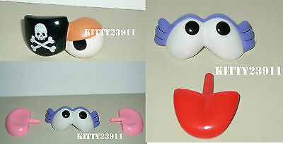 ACCESSOIRES pirate Monsieur Mme PATATE TOY STORY Mr POTATO HEAD pirat eye patch