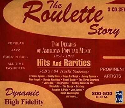 The Roulette Story: Two Decades of American Popular Music, 1957-1977 , Music CD