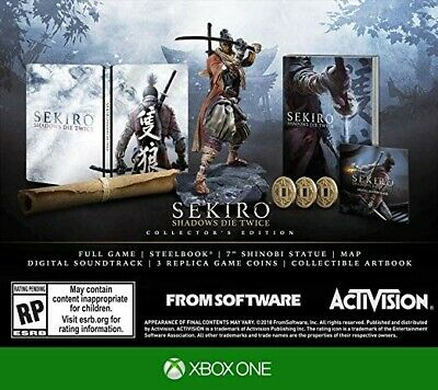 SEKIRO SHADOWS DIE TWICE COLLECTORS EDITION Xbox One