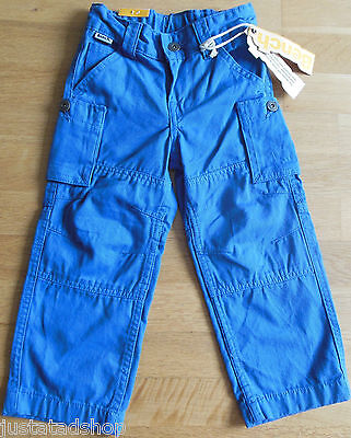 Bench trousers boy chinos blue 2-3 y BNWT pants