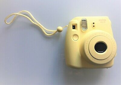 FUJIFILM Instax Mini 8 Yellow Instant Polaroid Film Camera