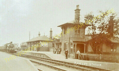 Arksey Railway Station Photo. Doncaster to Moss, Blane and Heck Line. GNR. (5)