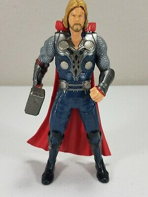 Marvel The Avengers Mighty Battlers - Hammer Slinging Thor - Hasbro 2011