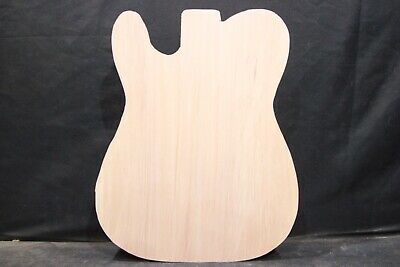 "Alder  1-piece guitar body blank   Cut to ""tele"" shape   #2235"