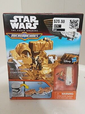 MicroMachines - Star Wars The Force Awakens - First Order Stormtrooper Playset