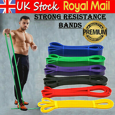 Resistance Bands Pull Up Heavy Assisted Band For Loop Stretching Exercise Gym