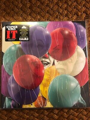 Stephen King's IT TV Movie Soundtrack WAXWORK 3XLP Balloon Colored Vinyl
