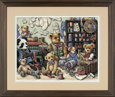 Dimensions Counted Cross Stich Gold Collection Buttons 'n Bears 35151