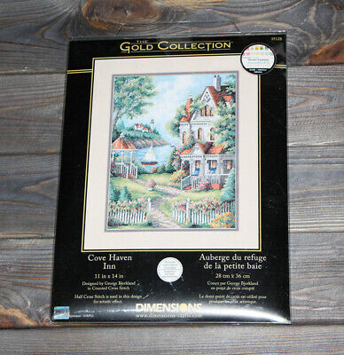 Dimensions Counted Cross Stich Gold Collection Cove Haven Inn 35128