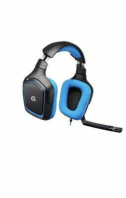1ab10ef3b68 Logitech G430 Surround Sound Gaming Headset with Dolby 7.1 - Playstation 4  PS4