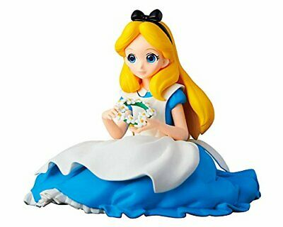 New Banpresto Q Posket Disney Characters Crystalux Alice in Wonderland Figure