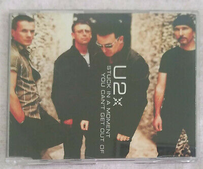 U2 (STUCK IN A MOMENT YO CAN'T GET OUT OF) CD Single 2001
