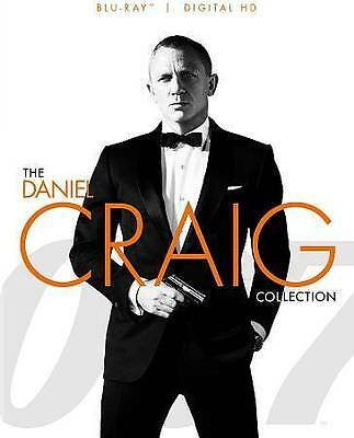 James Bond 007 Casino Royale / Quantum of Solace / Skyfall (Blu-ray Disc, 2015)