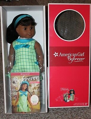 "American Girl Melody Ellison 18"" Doll With Book Brand New In Box"