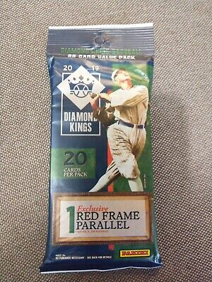 2019 Diamond Kings Dual Relic Auto Hot Pack! Guaranteed Autographed Dual Patch!