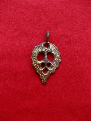 GOLD PLATED PENDANT*** 18-19 th century***Authentic 100 %***