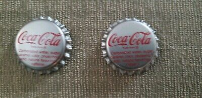 Lot of 100 Coca-Cola Coke Unpressed Bottle Caps - CHOICE of 2 different caps