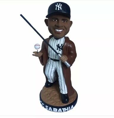 NIB New York Yankees CC Sabathia Star Wars SGA Bobblehead From 5/4/19 Game