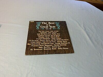 The Best Of A Great Year Vol III Vinyl LP Dolly Parton
