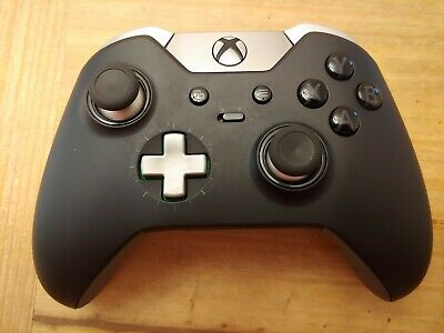 Microsoft Xbox One Elite Controller + Case & Attachments (Used) FREE SHIPPING!!!