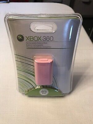 Official Microsoft XBox 360 Rechargeable Battery Pack Wireless Controller- PINK