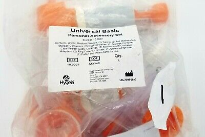 Hygeia Personal Accessory Set (PAS) Includes Flanges, Tubing, Valves, Containers