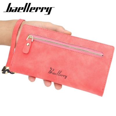 Women Lady Clutch Leather Wallet Long Card Holder Phone Bag Case Purse Handbag